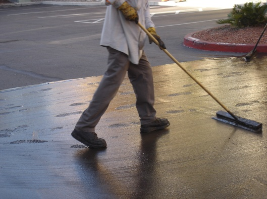 asphalt sealer fluidity